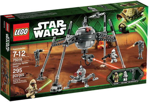 LEGO Star Wars The Clone Wars Homing Spider Droid Set #75016