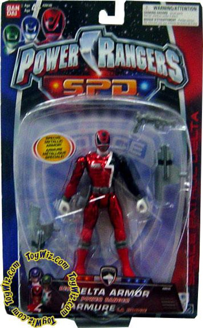 Power Rangers SPD Red Delta Armor Power Ranger Action Figure