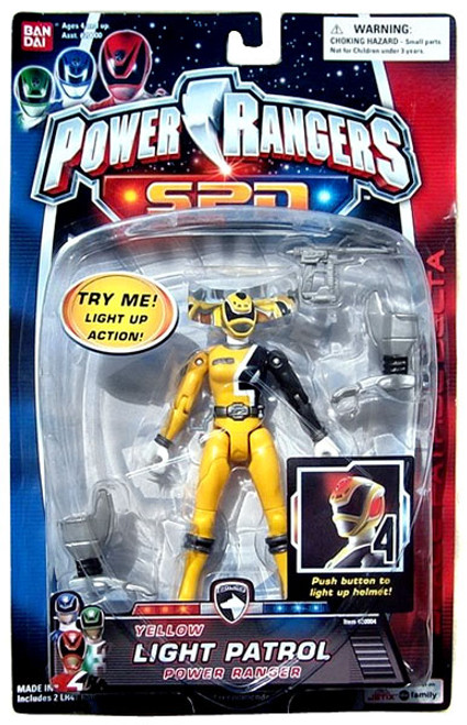 Power Rangers SPD Yellow Light Patrol Power Ranger Action Figure