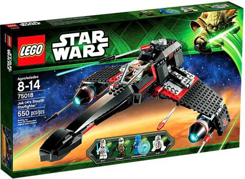 LEGO Star Wars The Clone Wars Jek-14's Stealth Starfighter Set #75018