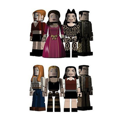 Buffy The Vampire Slayer PALz Halloween 4-Pack Mini Figure Set