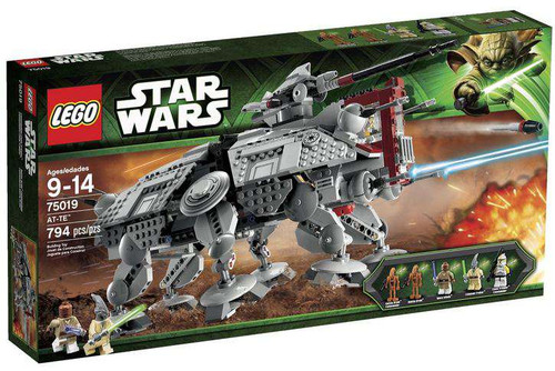 LEGO Star Wars The Clone Wars AT-TE Set #75019
