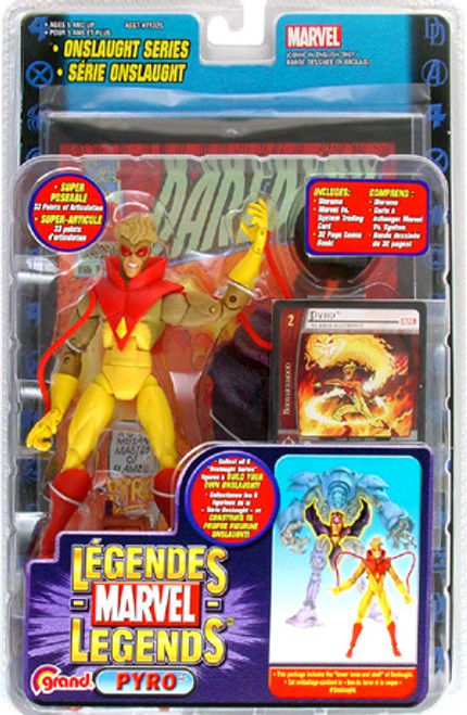 Marvel Legends Series 13 Onslaught Pyro Action Figure
