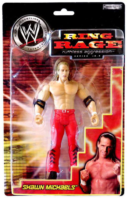 WWE Wrestling Ruthless Aggression Series 16.5 Ring Rage Shawn Michaels Action Figure