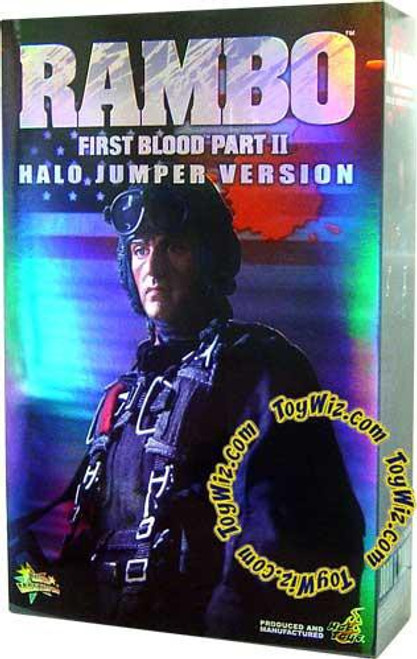 First Blood Part II Rambo Action Figure [Halo Jumper ]