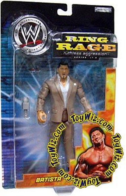 WWE Wrestling Ruthless Aggression Series 17.5 Ring Rage Batista Action Figure