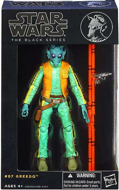Star Wars A New Hope Black Series Wave 2 Greedo Action Figure #07