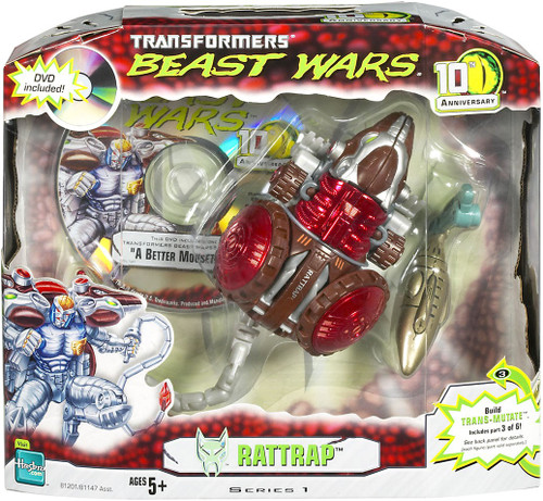 Transformers Beast Wars 10th Anniversary Series 1 Rattrap Action Figure