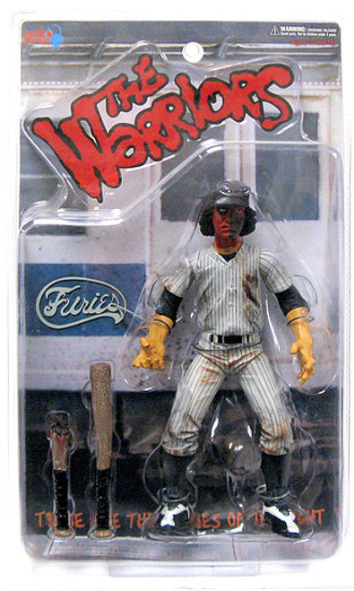 The Warriors Red Faced Baseball Fury Action Figure [Dirty Version]