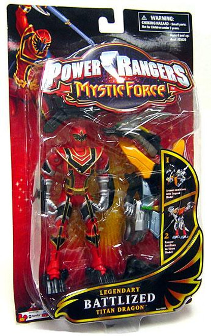 Power Rangers Mystic Force Legendary Battlized Titan Dragon Action Figure