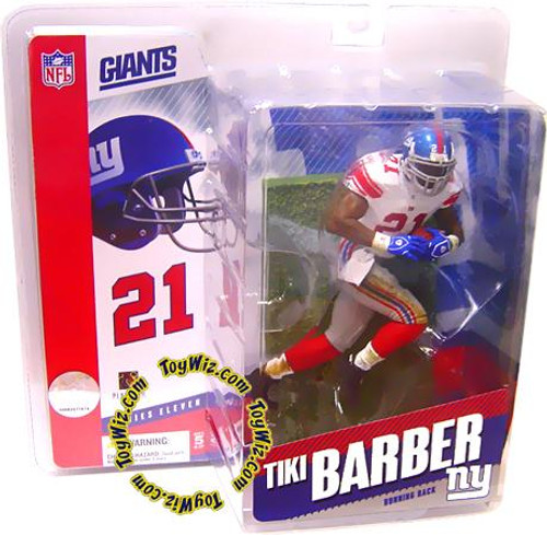 McFarlane Toys NFL New York Giants Sports Picks Series 11 Tiki Barber Action Figure [Red Socks Variant]
