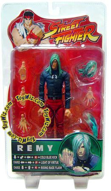 Street Fighter Series 4 Remy Action Figure [Black Shirt, Red Pants]