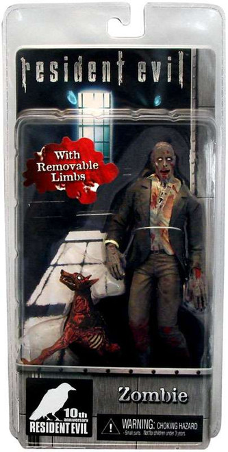 NECA Resident Evil 10th Anniversary Series 1 Zombie with Dog Action Figure