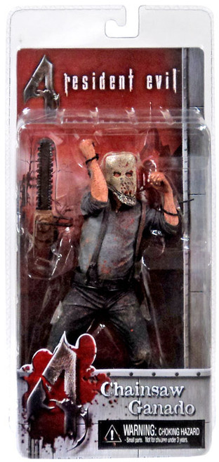 NECA Resident Evil 4 Series 1 Chainsaw Ganado Action Figure