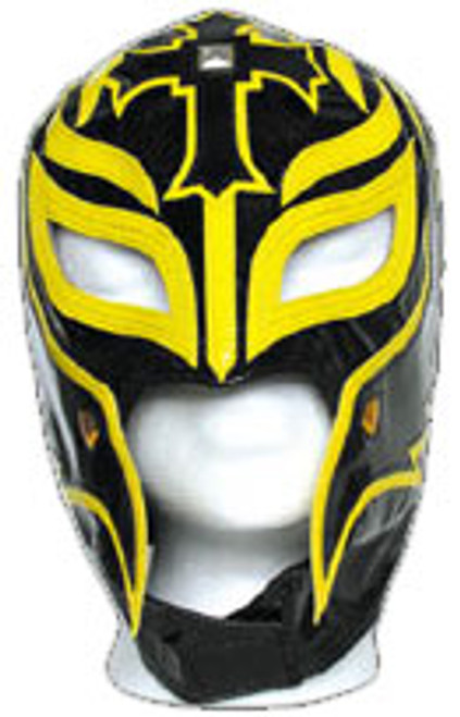 WWE Wrestling WCW Rey Mysterio Replica Mask [Youth, Black & Yellow]