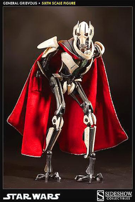 Star Wars Revenge of the Sith Scum & Villainy Sixth Scale General Grievous 12 Inch Action Figure