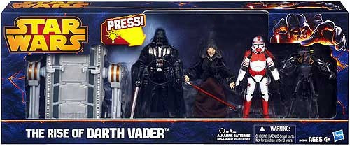 Star Wars Revenge of the Sith Exclusives 2013 The Rise of Darth Vader Exclusive Action Figure