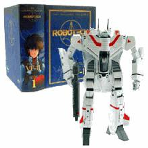 Robotech Macross Masterpiece Collection Volume 1 VF-1J Rick Hunter Action Figure