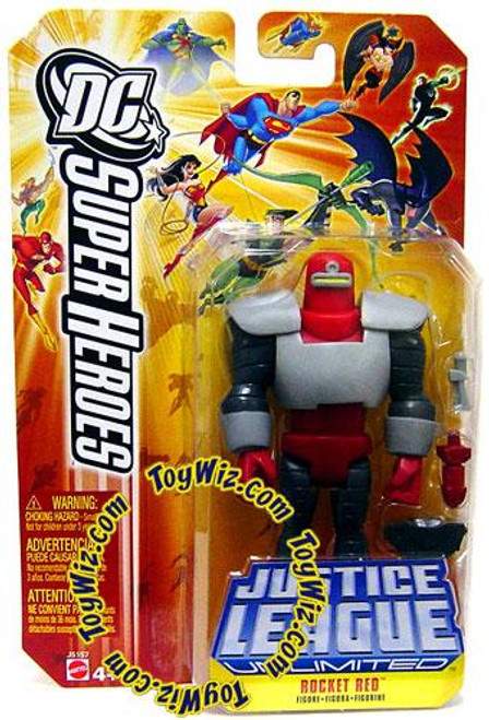 DC Justice League Unlimited Super Heroes Rocket Red Action Figure