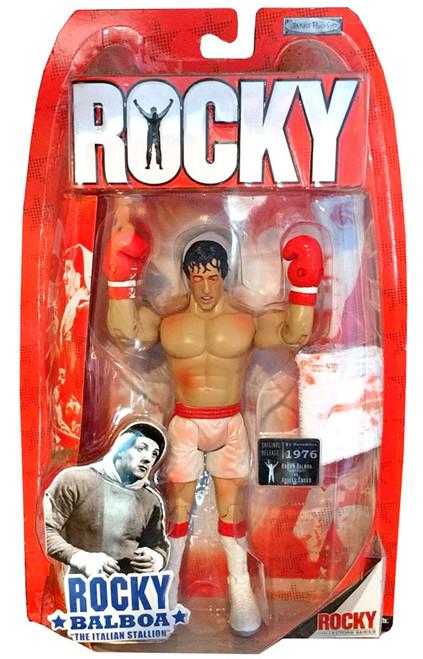 Rocky I Series 1 Rocky Balboa Action Figure [Bloody Battle Damaged]