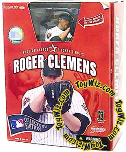 McFarlane Toys MLB Houston Astros Sports Picks Collector's Edition Roger Clemens Action Figure [Houston Astros]