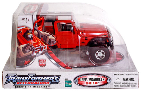 Transformers Alternators Jeep Wrangler Rollbar Action Figure