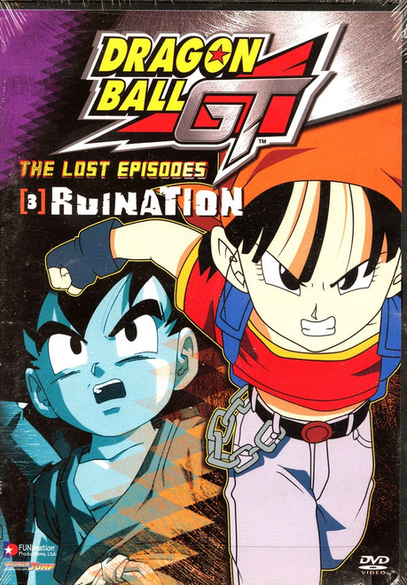 Dragon Ball GT The Lost Episodes - Ruination DVD #03 [Uncut]