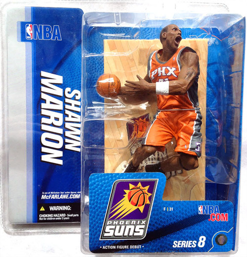McFarlane Toys NBA Phoenix Suns Sports Picks Series 8 Shawn Marion Action Figure [Orange Jersey Variant]