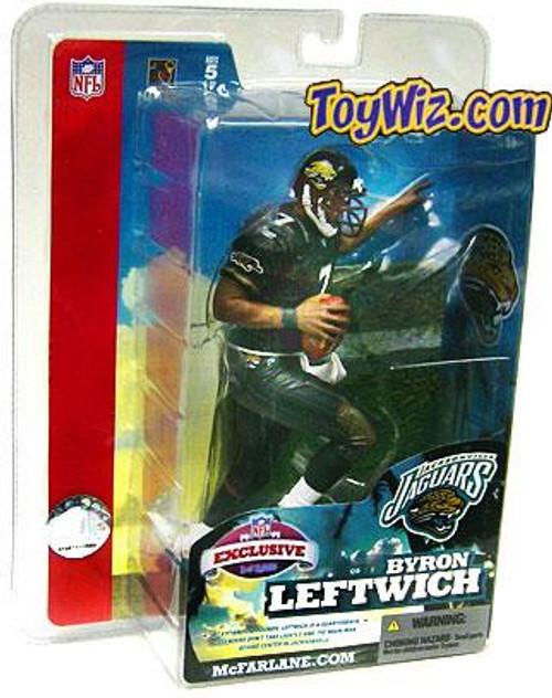 McFarlane Toys NFL Jacksonville Jaguars Sports Picks Exclusive Byron Leftwich Exclusive Action Figure [Super Bowl XXXIX]