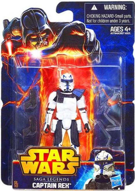 Star Wars The Clone Wars Saga Legends 2013 Captain Rex Action Figure SL10