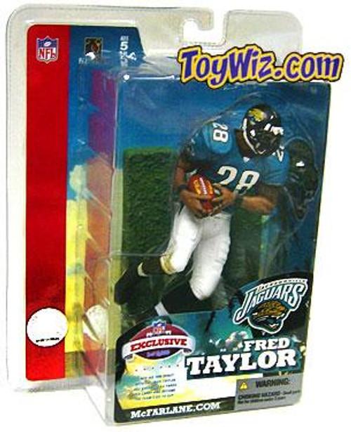 McFarlane Toys NFL Jacksonville Jaguars Sports Picks Exclusive Fred Taylor Exclusive Action Figure [Super Bowl XXXIX]