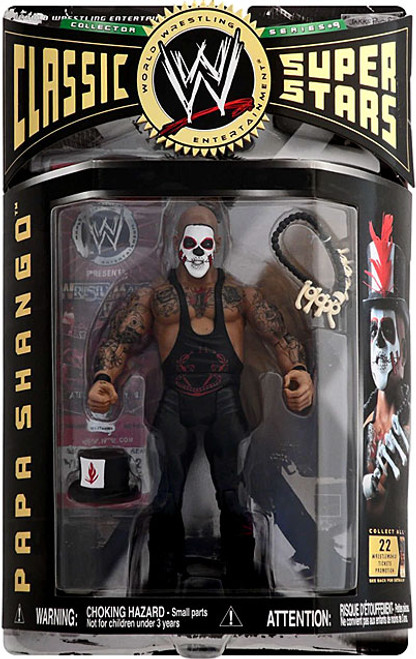 WWE Wrestling Classic Superstars Series 9 Papa Shango Action Figure