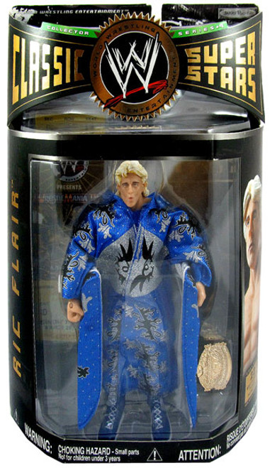 WWE Wrestling Classic Superstars Series 9 Ric Flair Action Figure