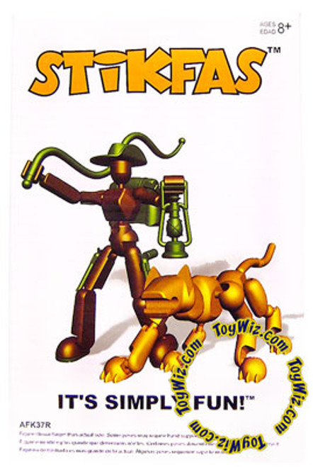 Stikfas Redeco Omedga Beta Female Action Figure Kit [Jungle Cat]