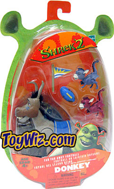 Shrek 2 Donkey Action Figure [Far Away Football]