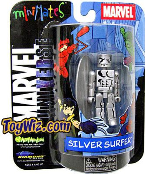 Marvel Universe Minimates Exclusives Silver Surfer Exclusive Minifigure
