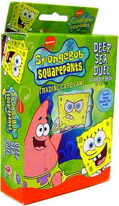 Spongebob Squarepants Trading Card Game Deep Sea Duel Aquatic Amigos Starter Deck