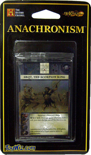 Anachronism Egyptian Sqrt, the Scorpion King Warrior Pack
