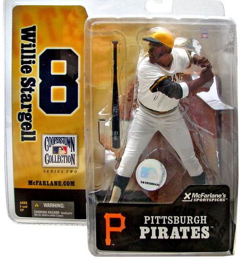 McFarlane Toys MLB Cooperstown Collection Series 2 Willie Stargell Action Figure [White Jersey]