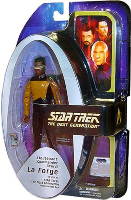 Star Trek The Next Generation TNG Series 3 Geordi LaForge Action Figure [Damaged Package]
