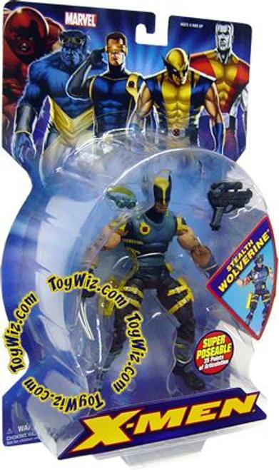 Marvel X-Men Stealth Wolverine Action Figure