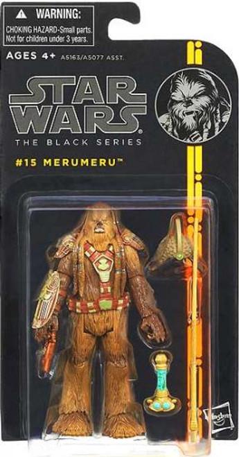 Star Wars Revenge of the Sith Black Series Wave 3 Merumeru Action Figure #15