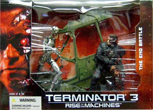 McFarlane Toys The Terminator Terminator 3 Rise of the Machines The End Battle Action Figure Set