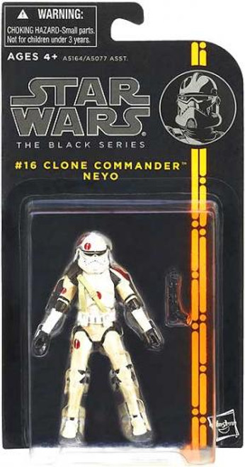 Star Wars Expanded Universe Black Series Wave 3 Clone Commander Neyo Action Figure #16