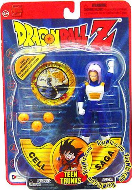 Dragon Ball Z Series 4 Cell Saga Teen Trunks Action Figure