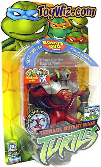Teenage Mutant Ninja Turtles 2003 Razor Fist Action Figure [Bonus DVD]