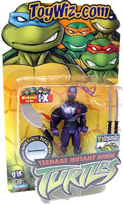 Teenage Mutant Ninja Turtles 2003 Foot Tech Ninja Action Figure
