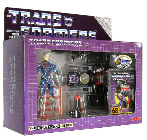 Transformers Japanese Collector's Edition Destron Magnificus (Diaclone Perceptor) Exclusive Action Figure #68
