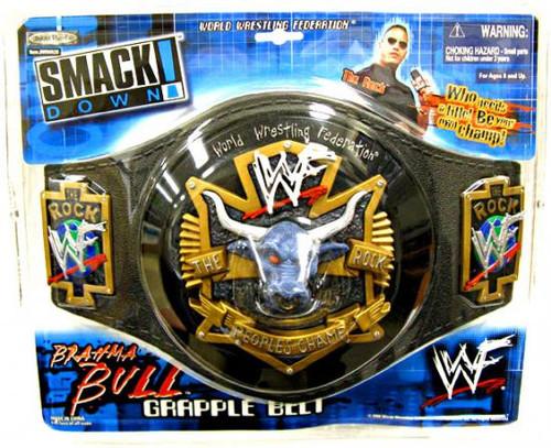 WWE Wrestling The Rock Brahma Bull Championship Belt [Youth]