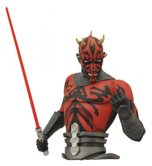 Star Wars The Clone Wars Darth Maul Vinyl Bust Bank